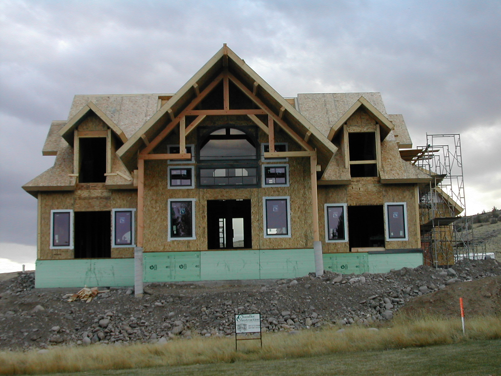 Energy efficient building product premier sips for Custom home builders wyoming