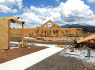 Affordable senior housing in Flagstaff, AZ consisting of 60 units uses Structural Insulated Panels (SIPs). The SIPs were installed in just a couple days.