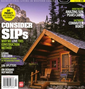 Cottage Magazine, April 2013